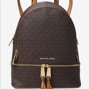 Michael Kors MK Signature Backpack